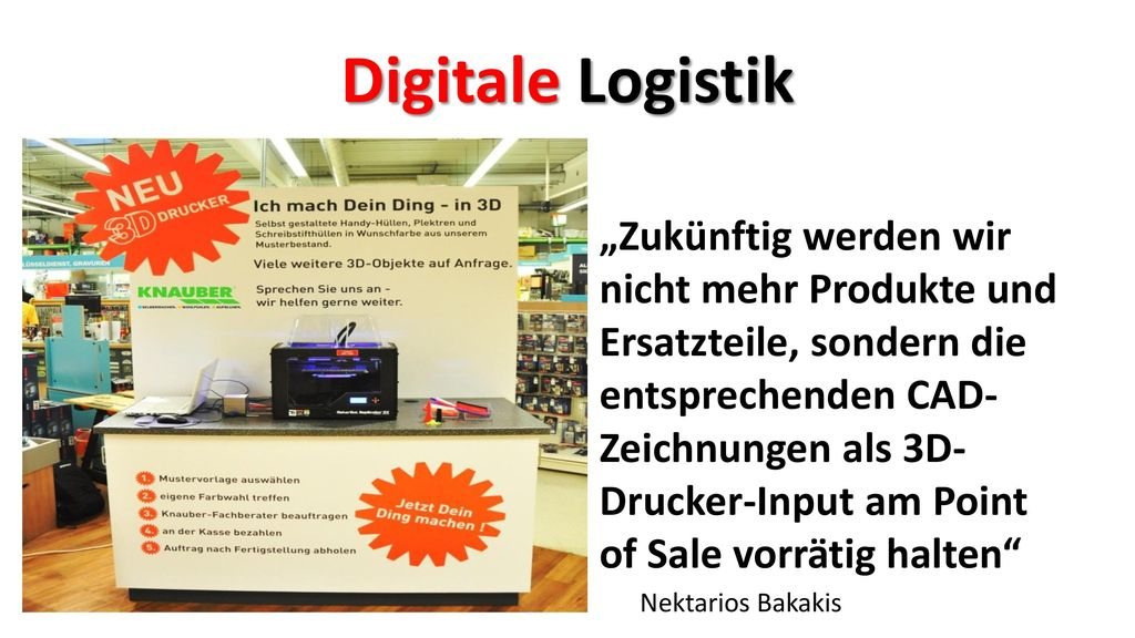 Digitale Logistik