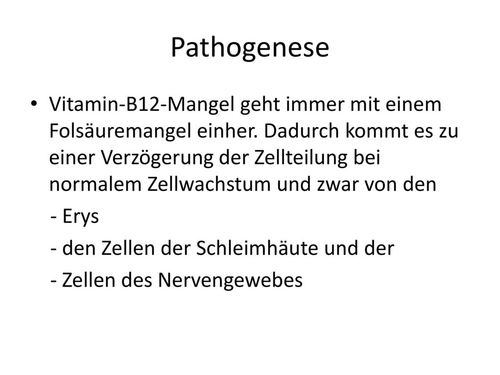 Pathogenese