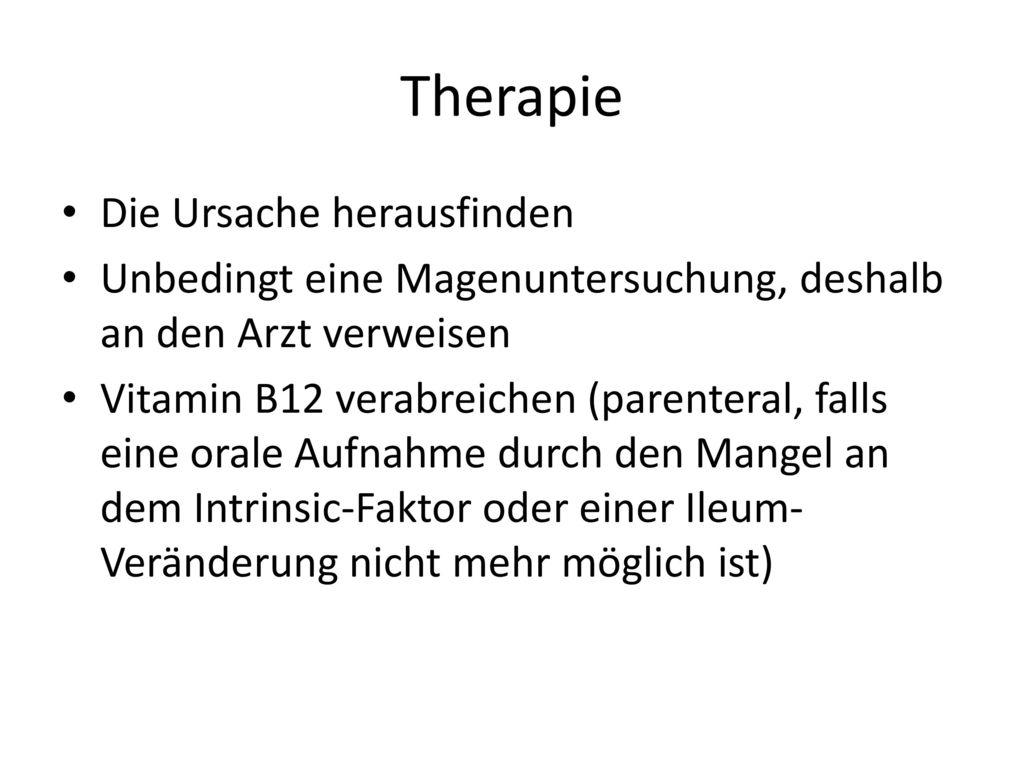 Therapie Die Ursache herausfinden