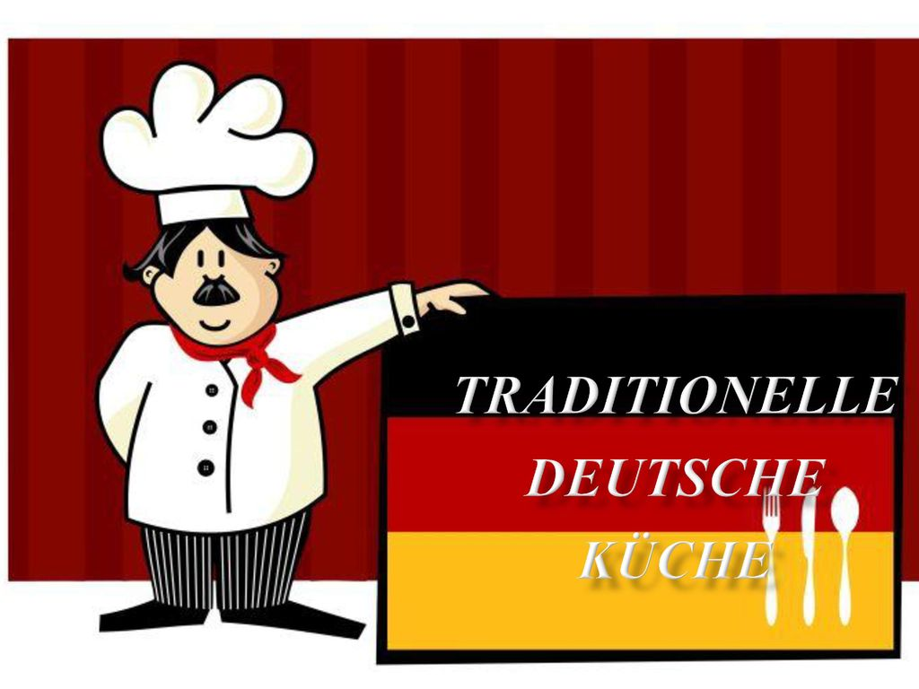 Traditionelle deutsche Küche