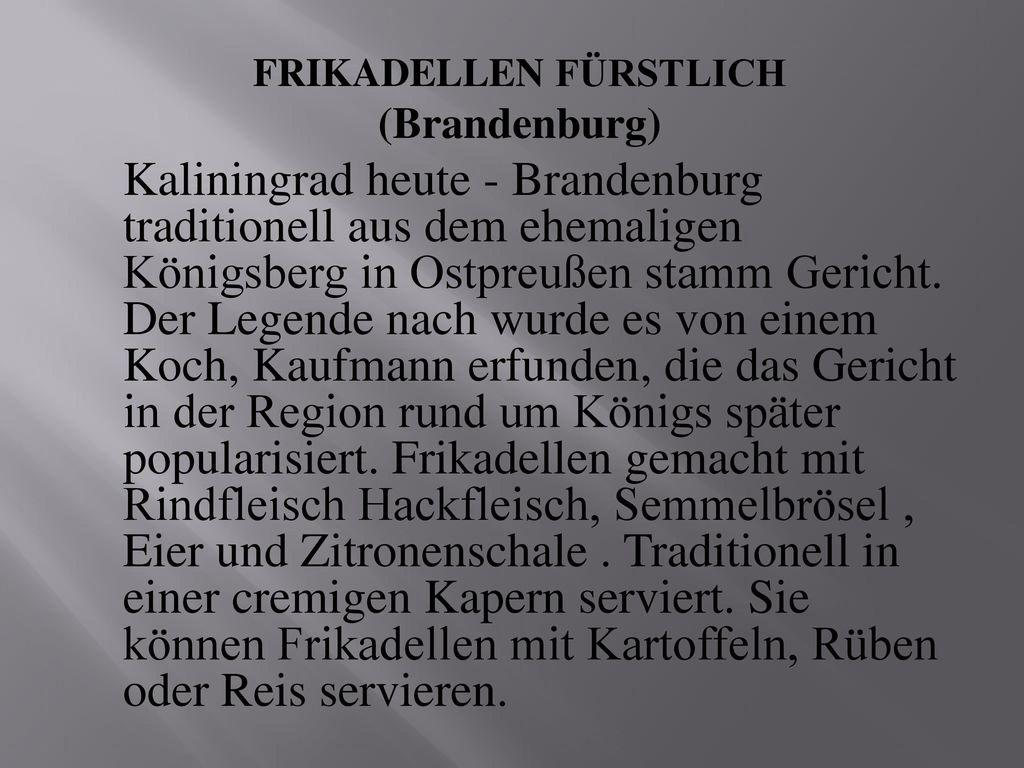 FRIKADELLEN FÜRSTLICH
