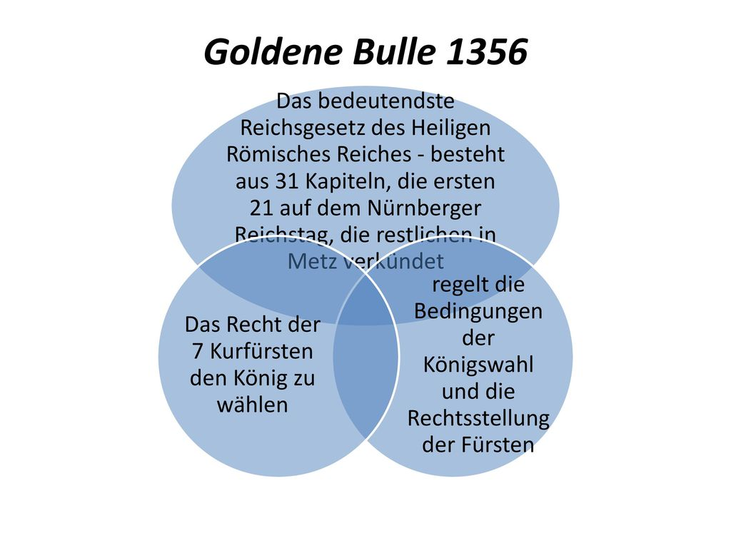 goldene bulle frankfurt