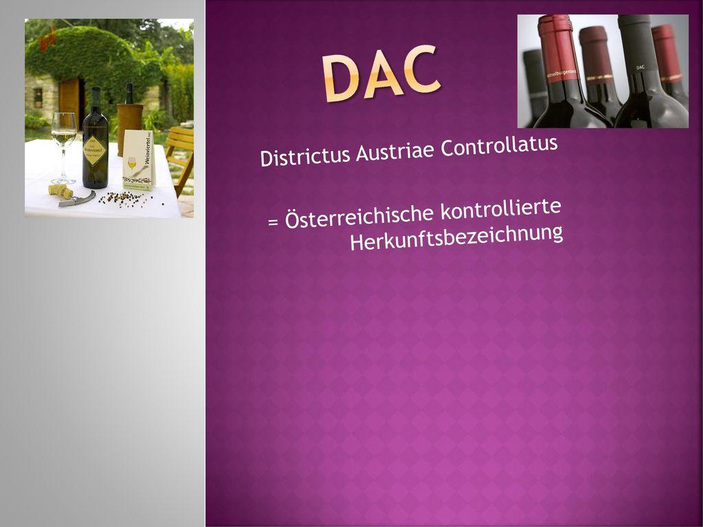 DAC Districtus Austriae Controllatus