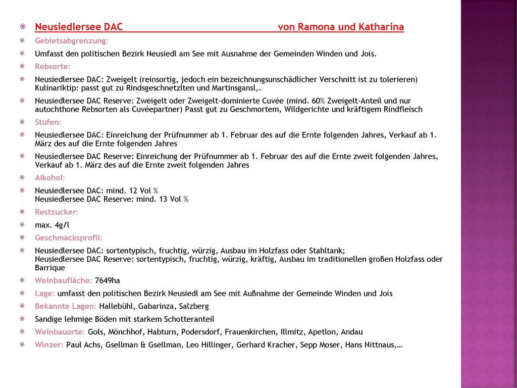 Neusiedlersee DAC von Ramona und Katharina