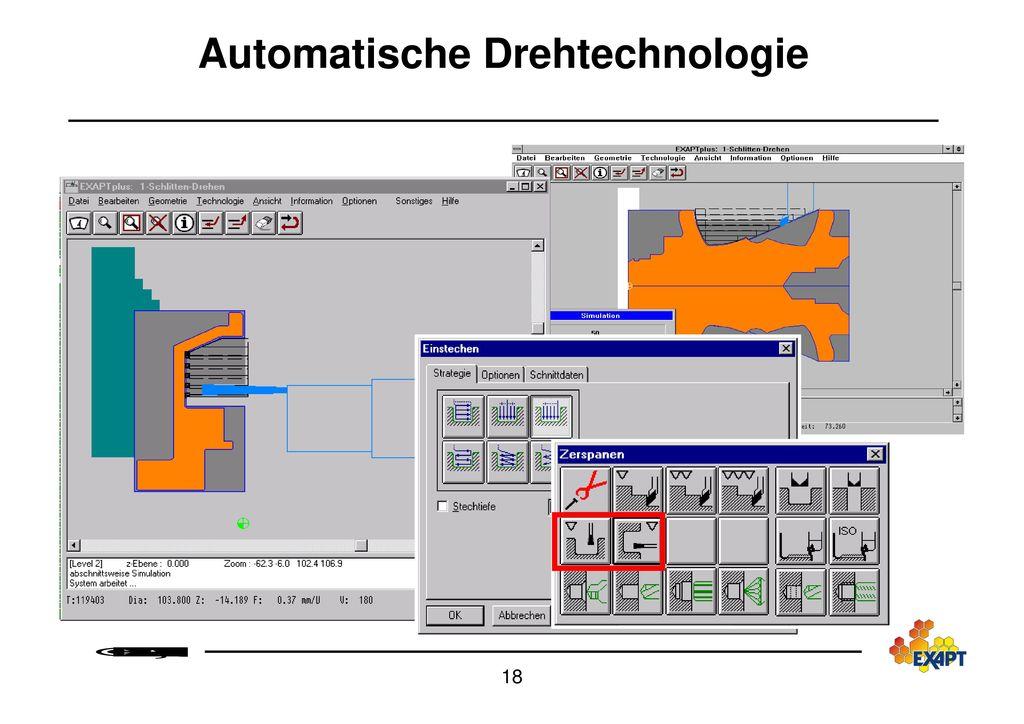 Automatische Drehtechnologie
