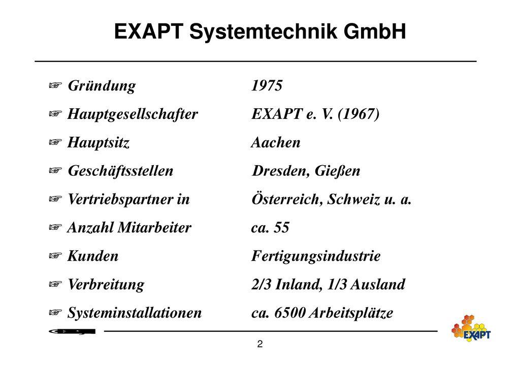 EXAPT Systemtechnik GmbH