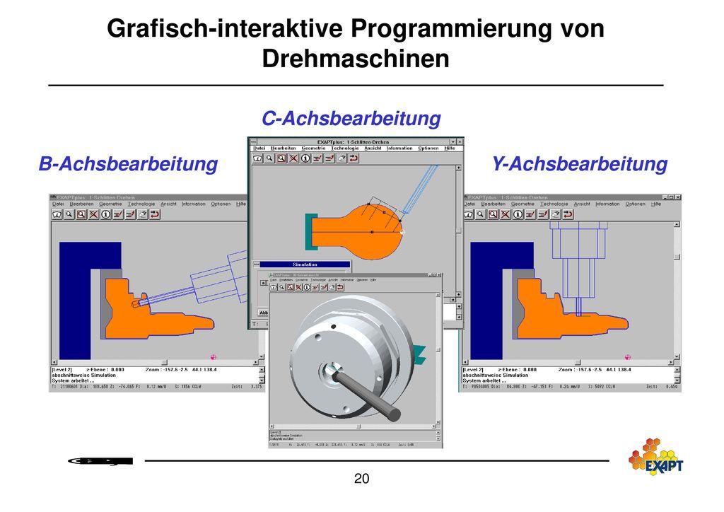 Grafisch-interaktive Programmierung von Drehmaschinen