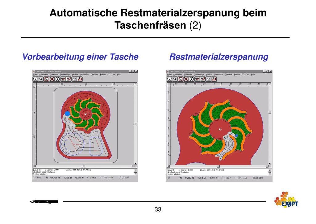 Automatische Restmaterialzerspanung beim Taschenfräsen (2)
