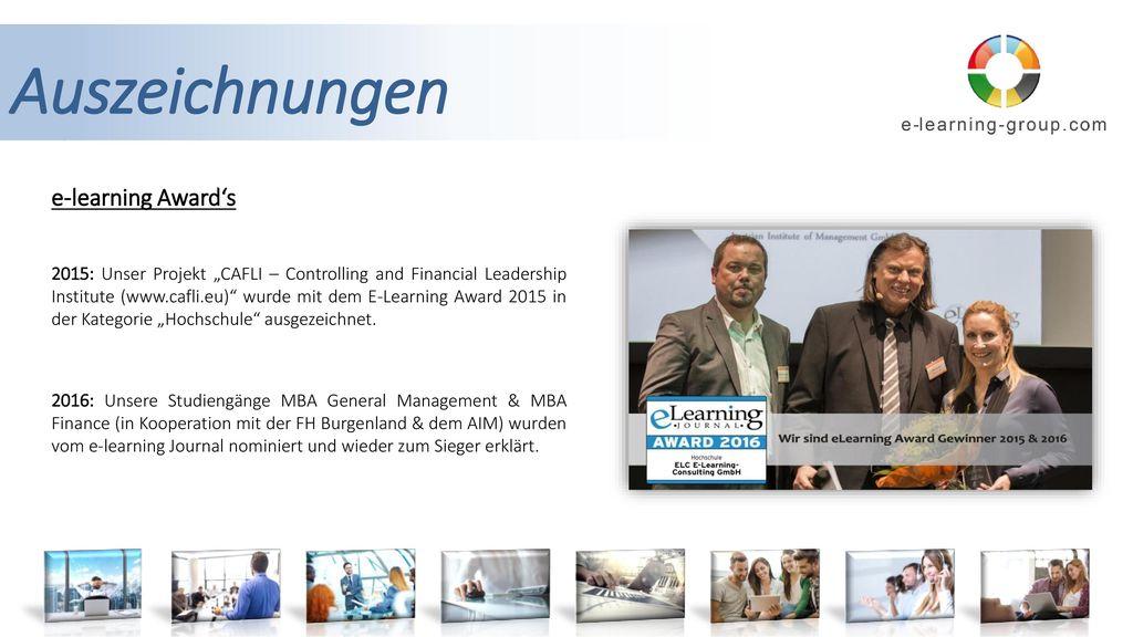 Auszeichnungen e-learning Award's