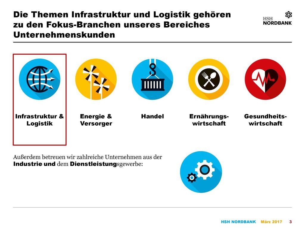 Die Themen Infrastruktur und Logistik gehören zu den Fokus-Branchen unseres Bereiches Unternehmenskunden