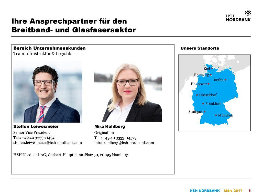 Ihre Ansprechpartner für den Breitband- und Glasfasersektor