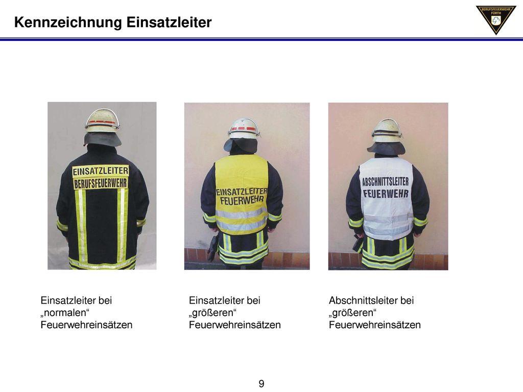 Kennzeichnung Einsatzleiter