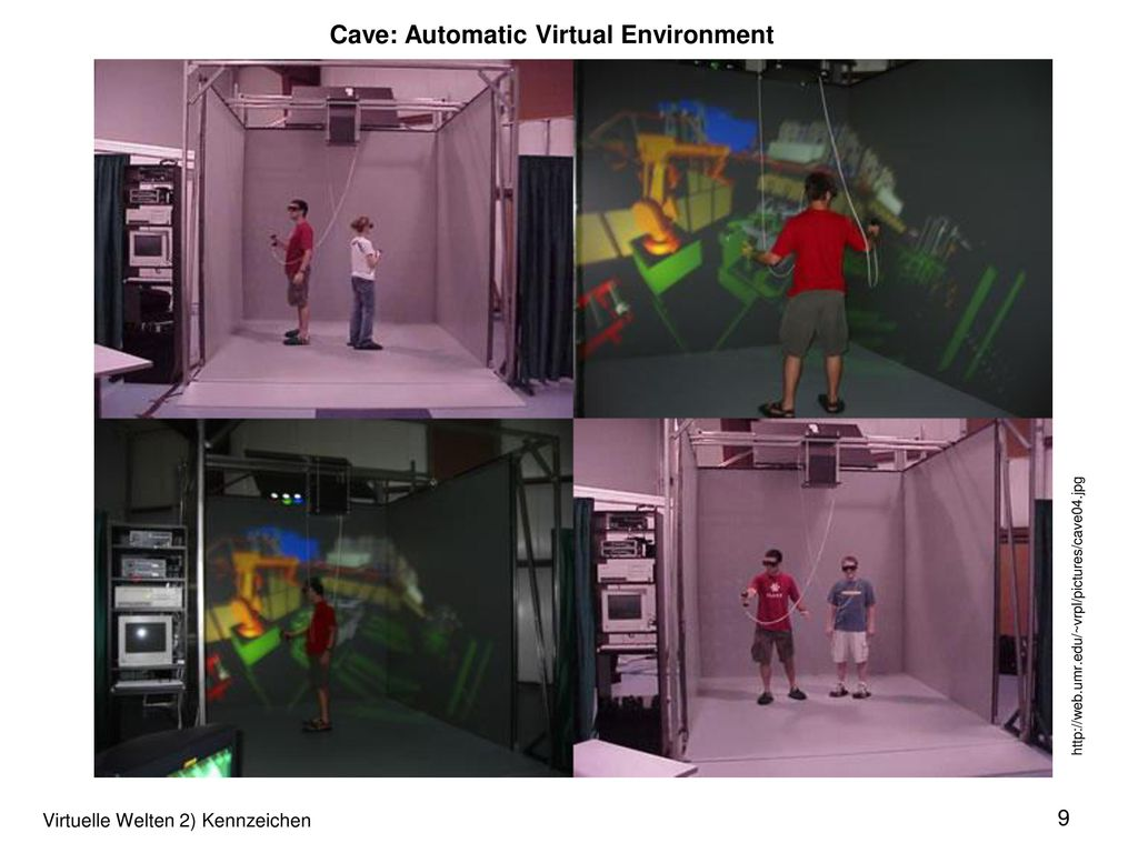 Cave: Automatic Virtual Environment