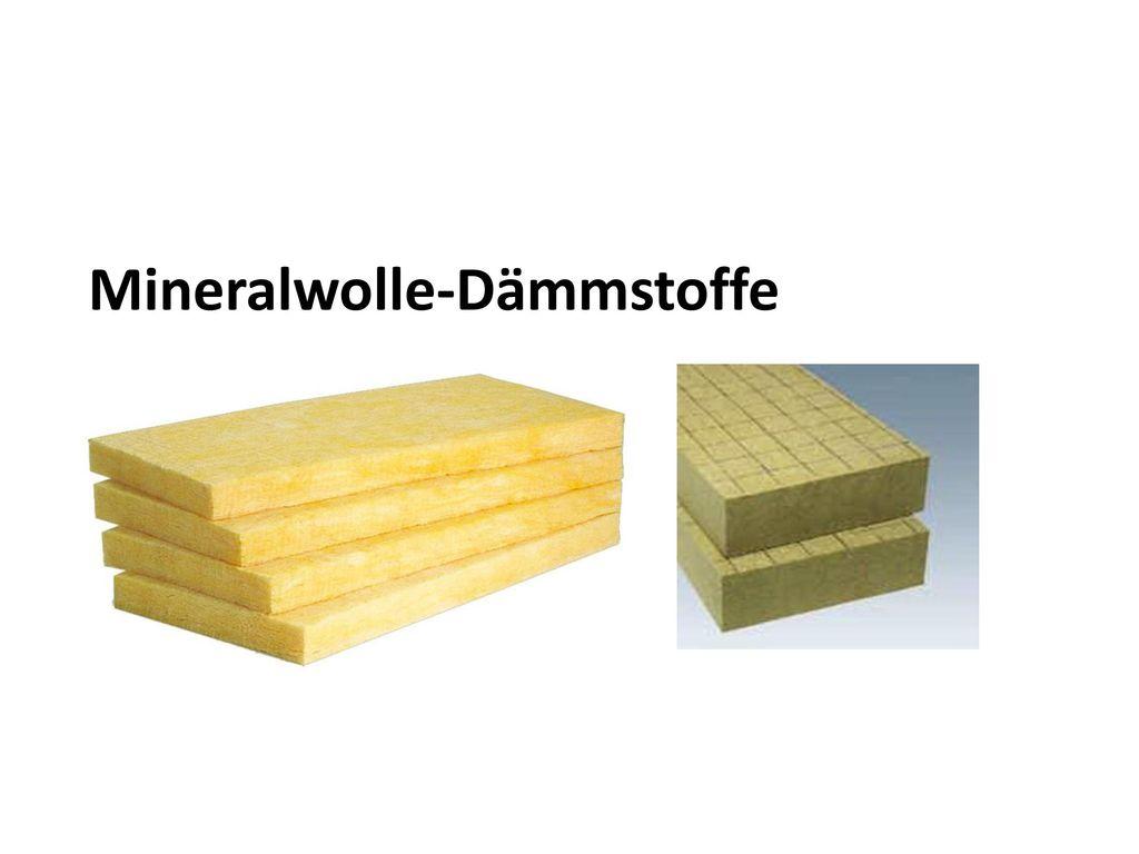 Mineralwolle-Dämmstoffe