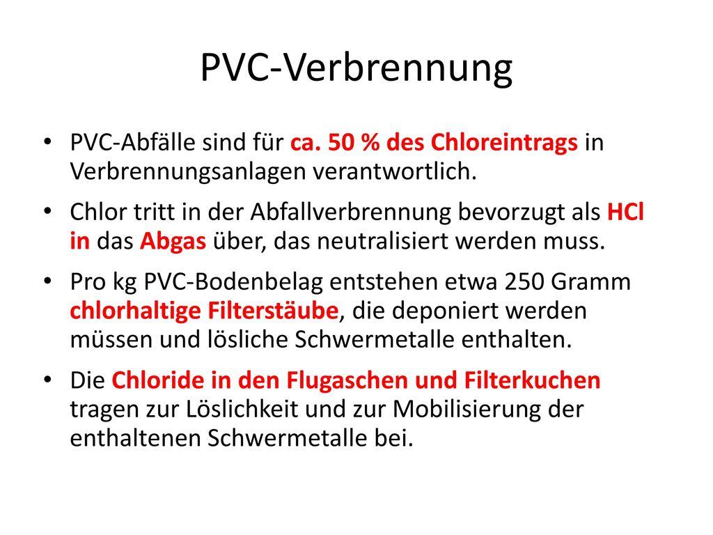 Erläuterung PVC-Herstellung