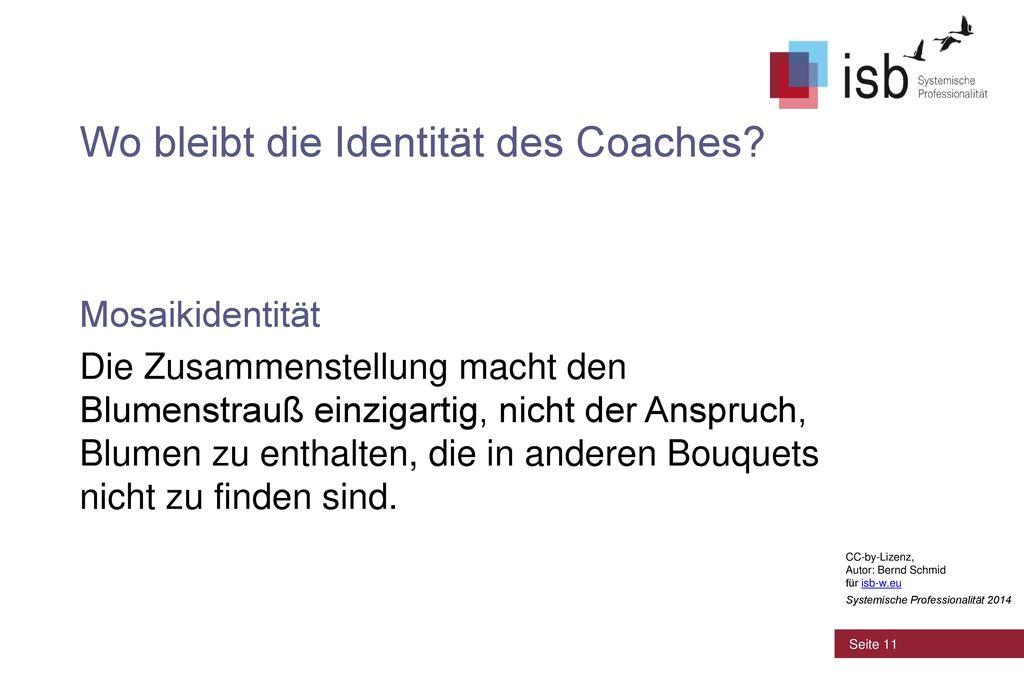 Wo bleibt die Identität des Coaches