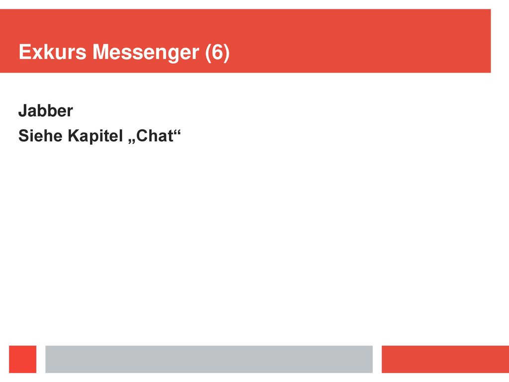 Exkurs Messenger (4) Signal