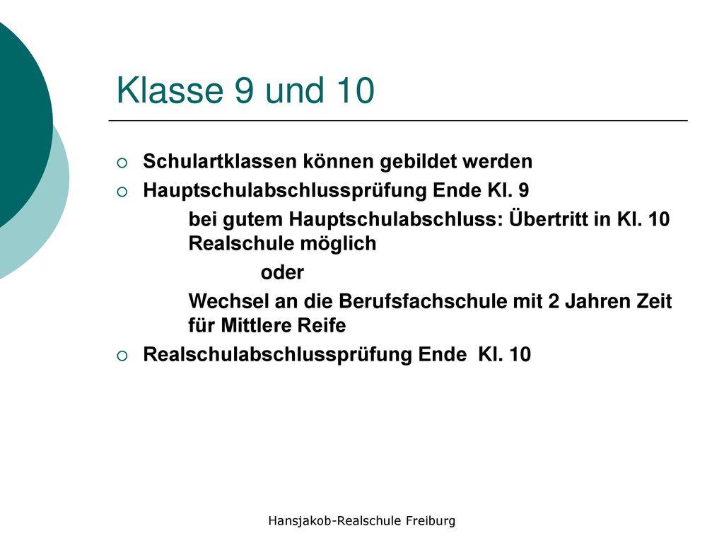 Hansjakob-Realschule Freiburg