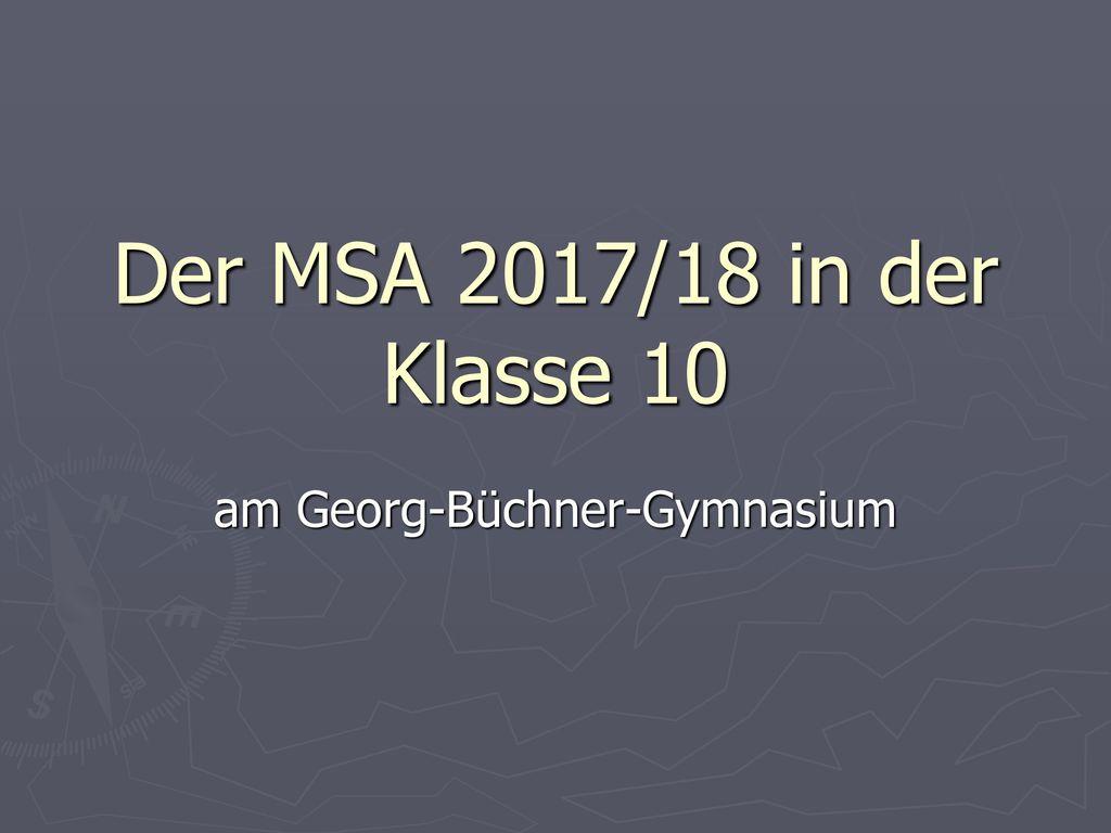 am Georg-Büchner-Gymnasium