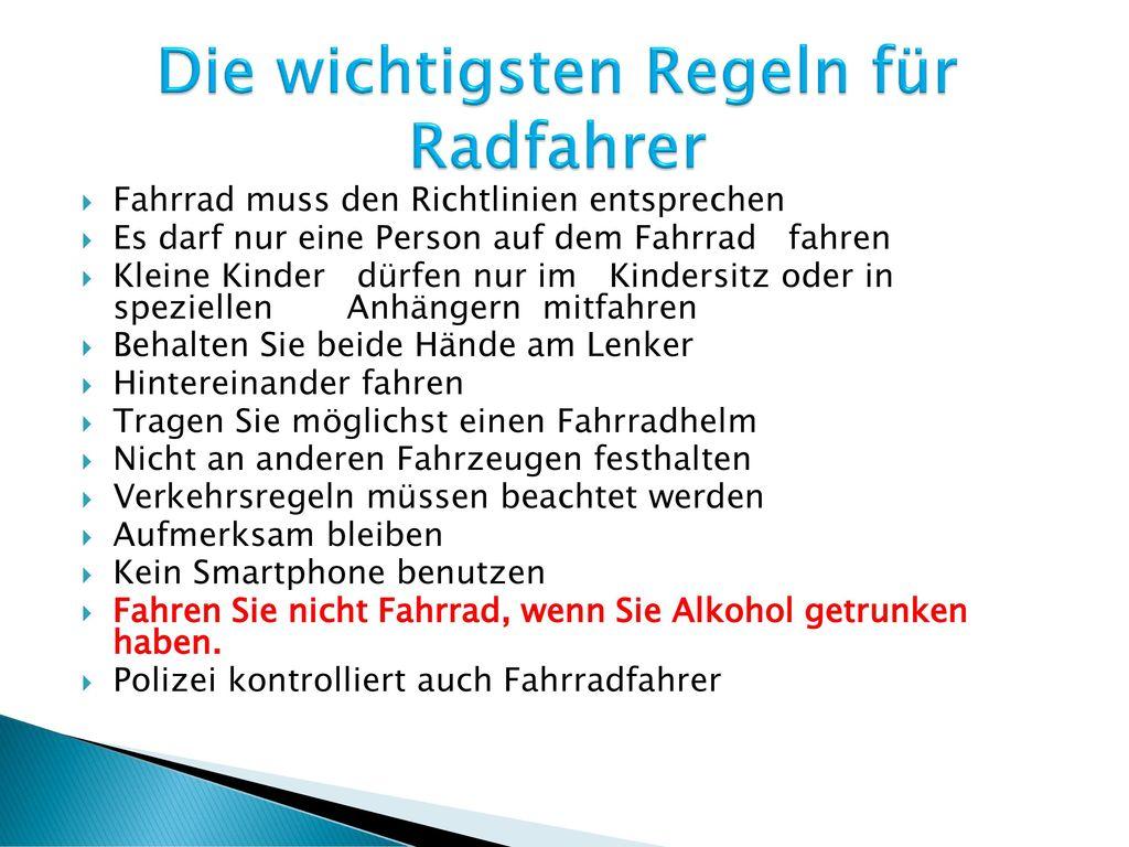 regeln in deutschland