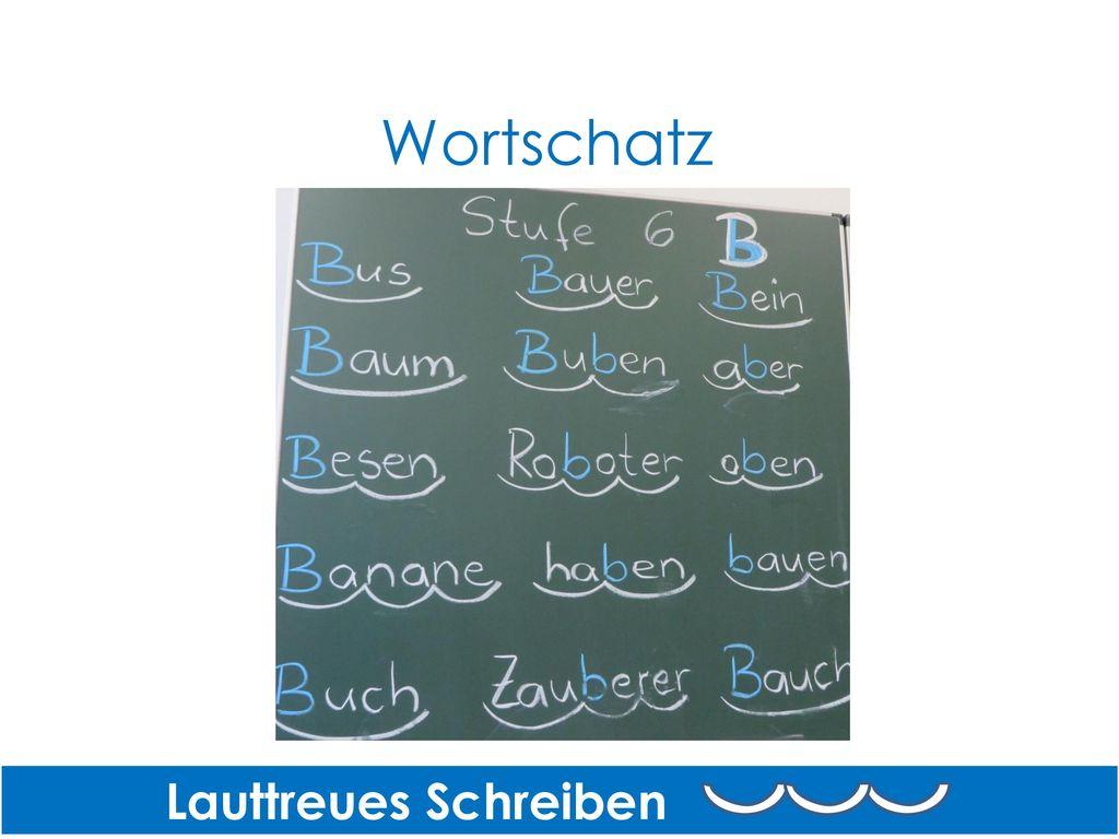 Wortschatz Lauttreues Schreiben