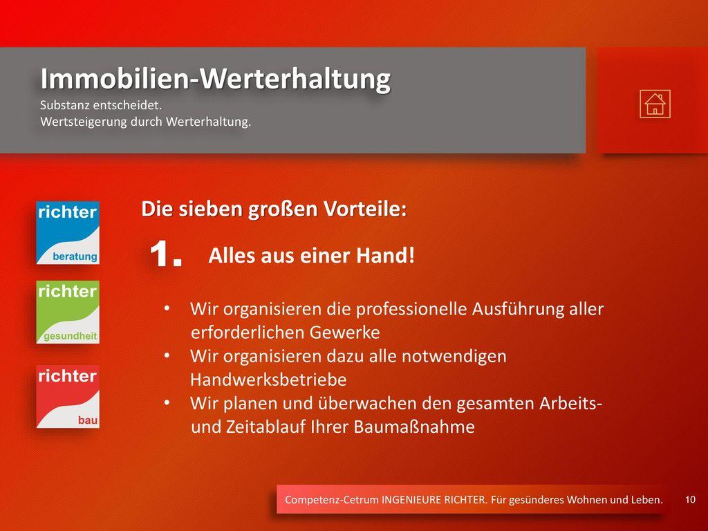 1. Die sieben großen Vorteile: Alles aus einer Hand!