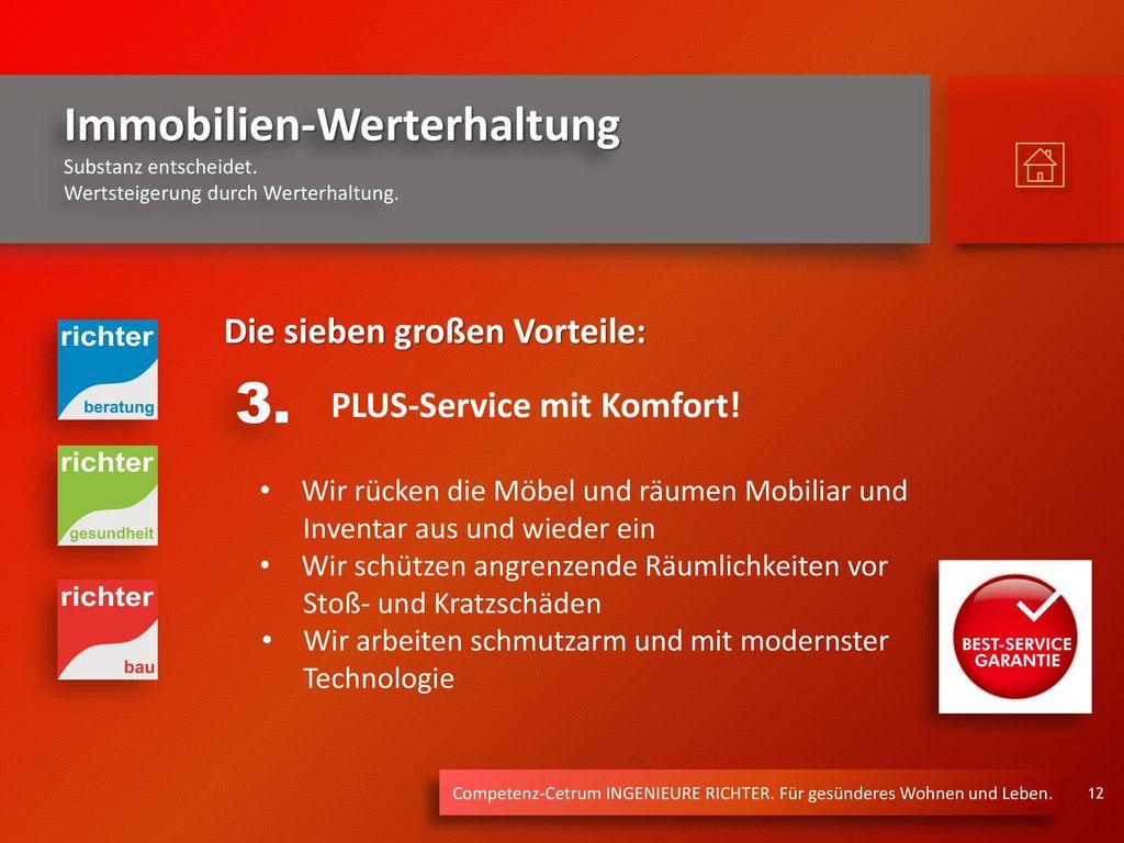 3. Die sieben großen Vorteile: PLUS-Service mit Komfort!