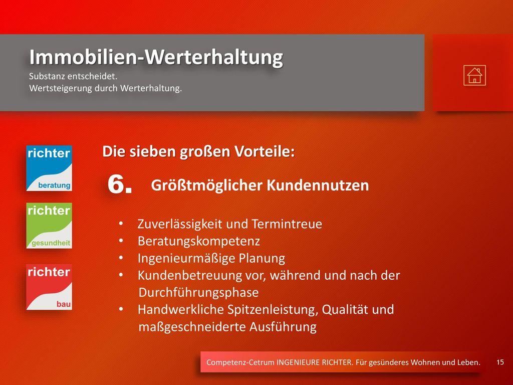 6. Die sieben großen Vorteile: Größtmöglicher Kundennutzen