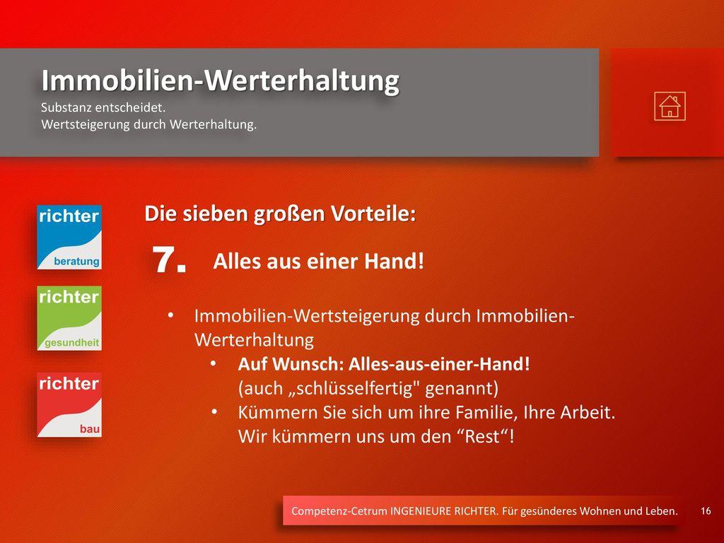 7. Die sieben großen Vorteile: Alles aus einer Hand!