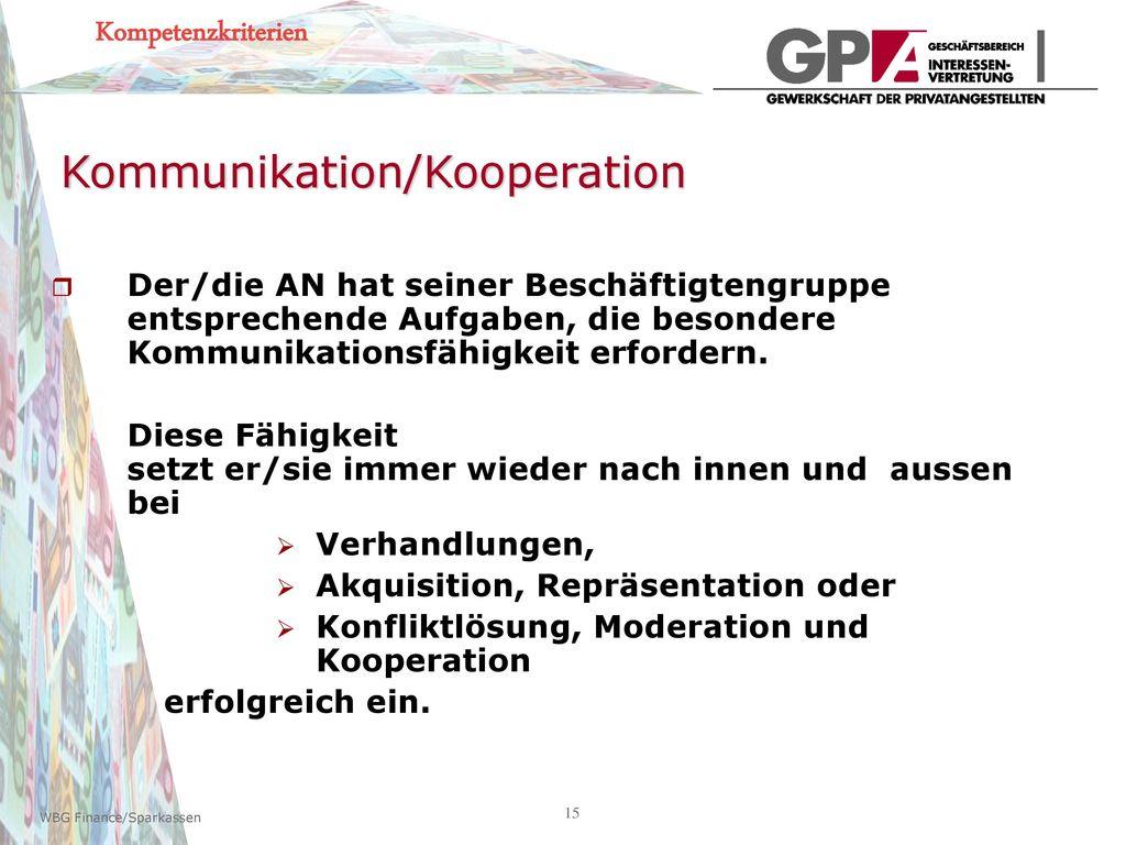 Kommunikation/Kooperation