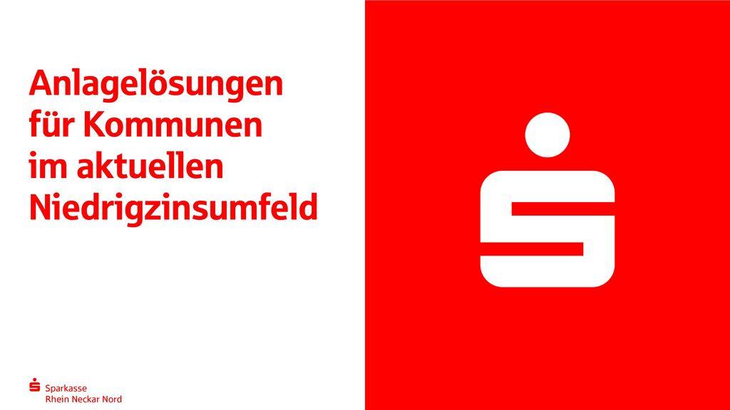 Anlagelösungen für Kommunen im aktuellen Niedrigzinsumfeld