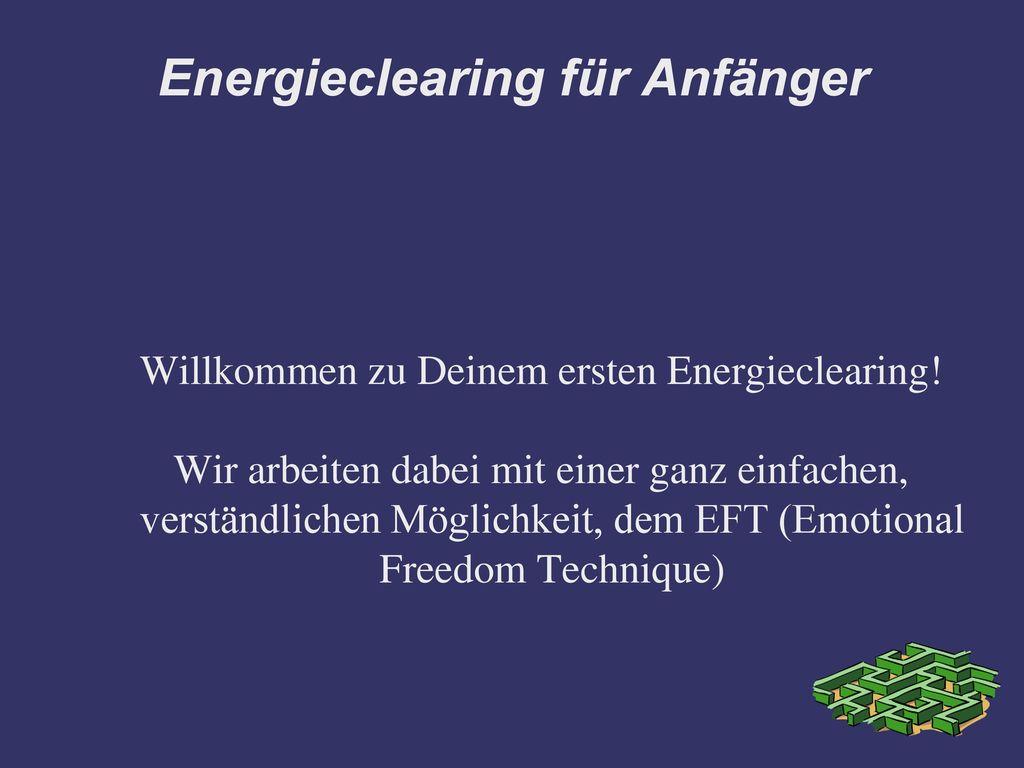 Energieclearing für Anfänger