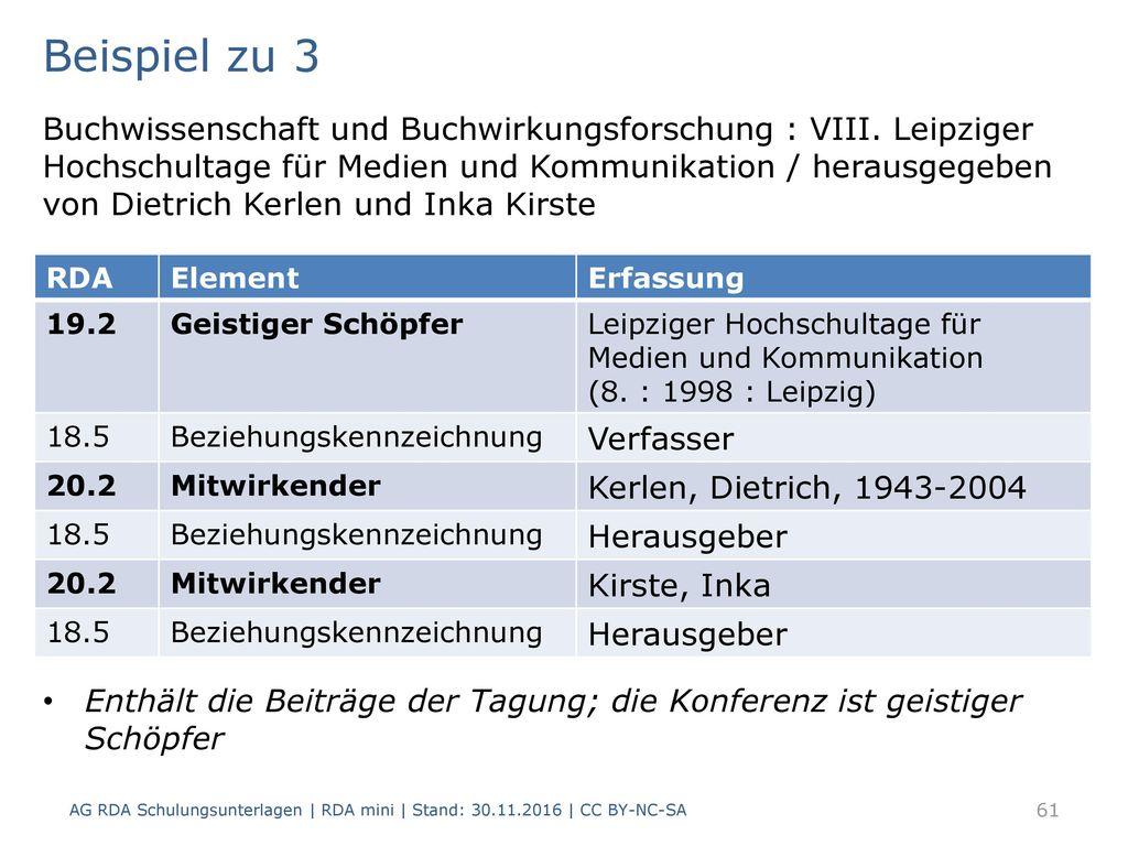 Beispiel zu 3