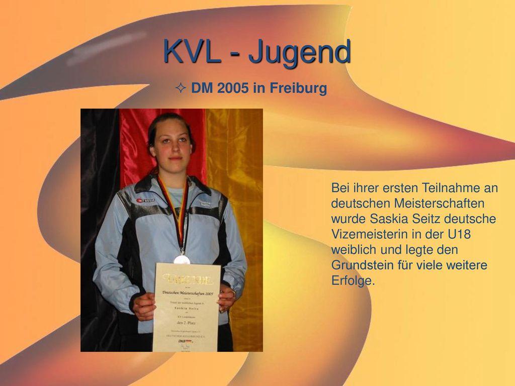 KVL - Jugend DM 2005 in Freiburg