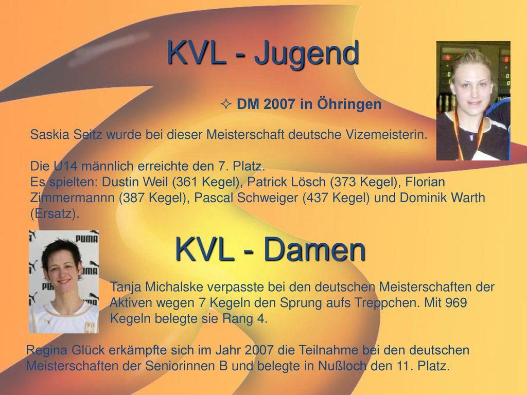 KVL - Jugend KVL - Damen DM 2007 in Öhringen