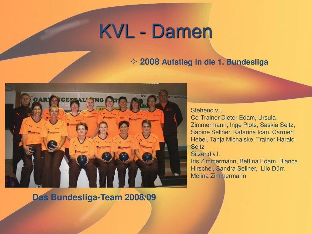 KVL - Damen 2008 Aufstieg in die 1. Bundesliga