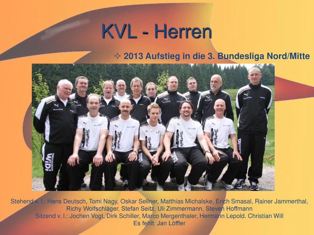 KVL - Herren 2013 Aufstieg in die 3. Bundesliga Nord/Mitte