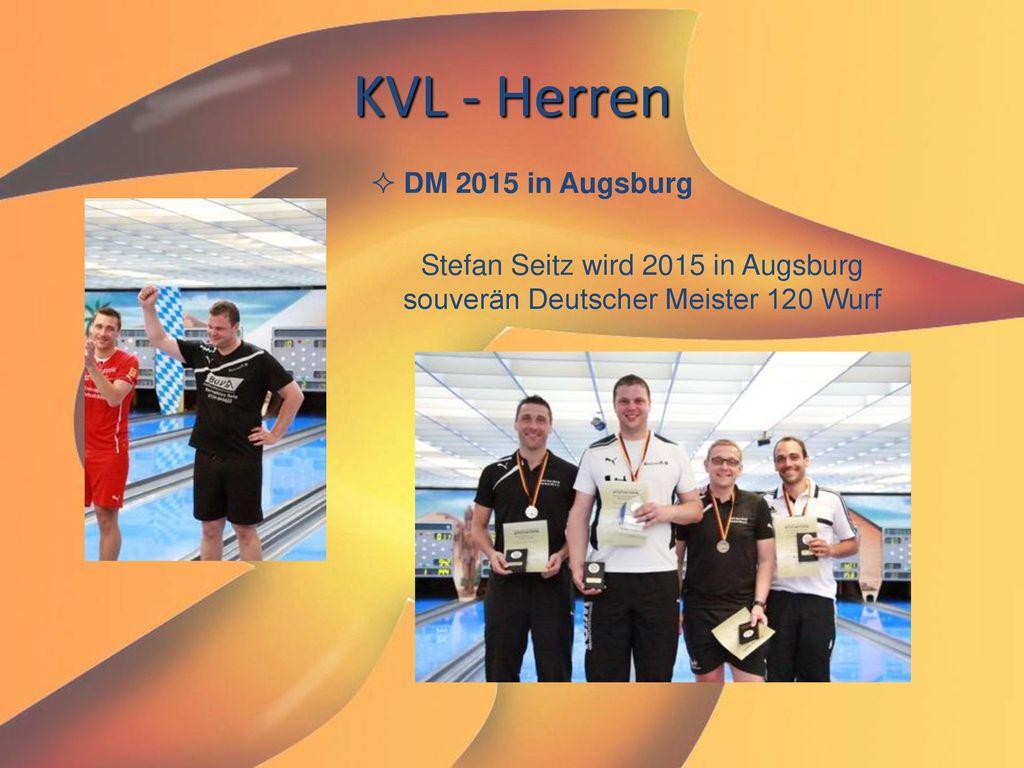 Stefan Seitz wird 2015 in Augsburg souverän Deutscher Meister 120 Wurf