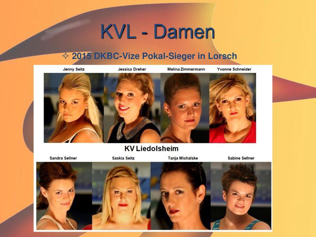 KVL - Damen 2015 DKBC-Vize Pokal-Sieger in Lorsch