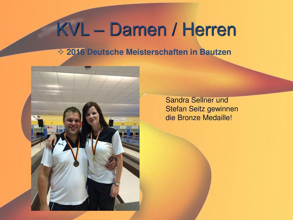 KVL – Damen / Herren 2016 Deutsche Meisterschaften in Bautzen