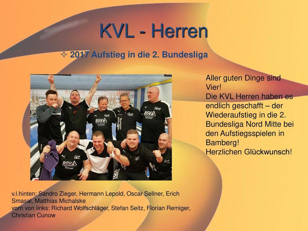 KVL - Herren 2017 Aufstieg in die 2. Bundesliga