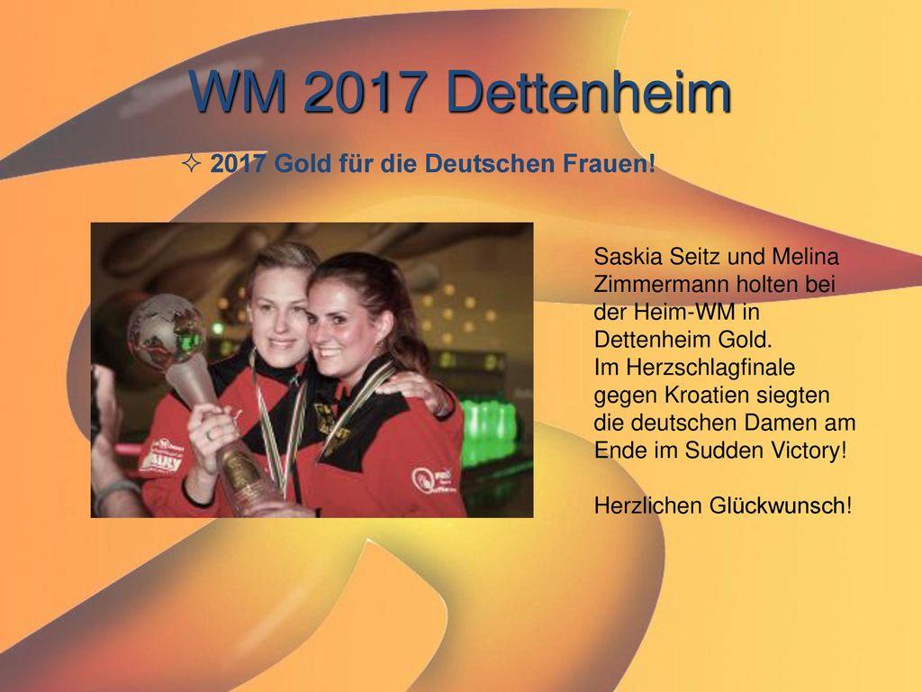 WM 2017 Dettenheim 2017 Gold für die Deutschen Frauen!