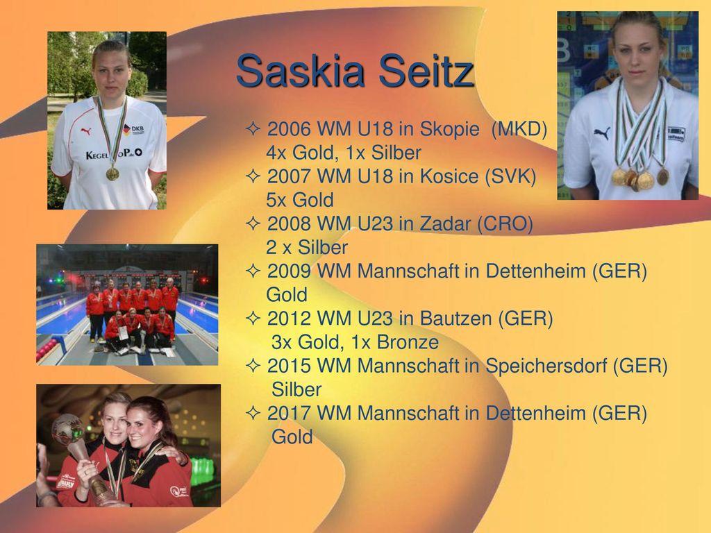 Saskia Seitz 2006 WM U18 in Skopie (MKD) 4x Gold, 1x Silber