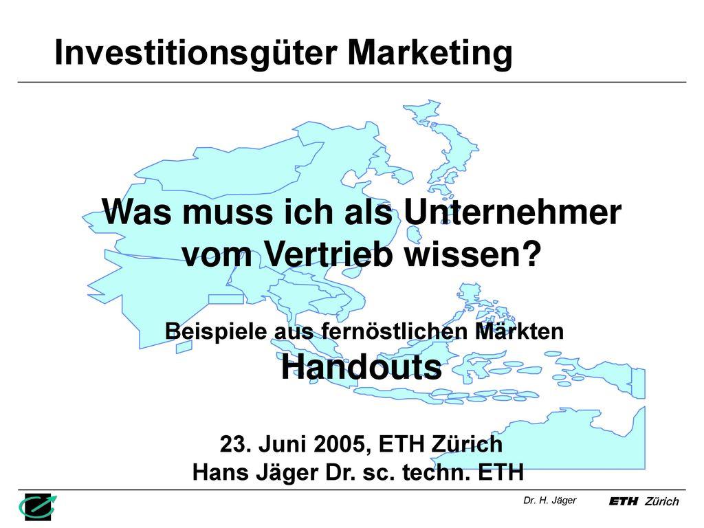 Investitionsgüter Marketing