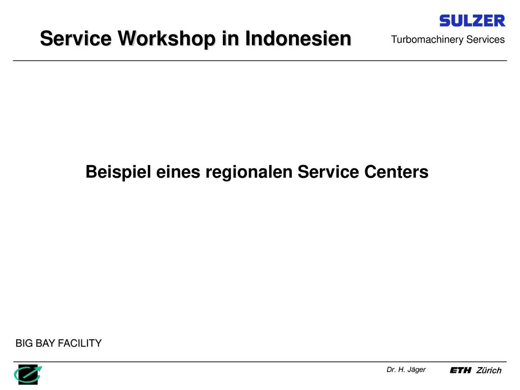 Service Workshop in Indonesien