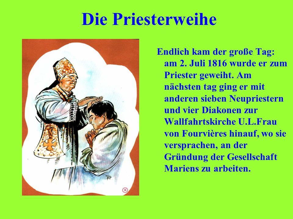 Die Priesterweihe