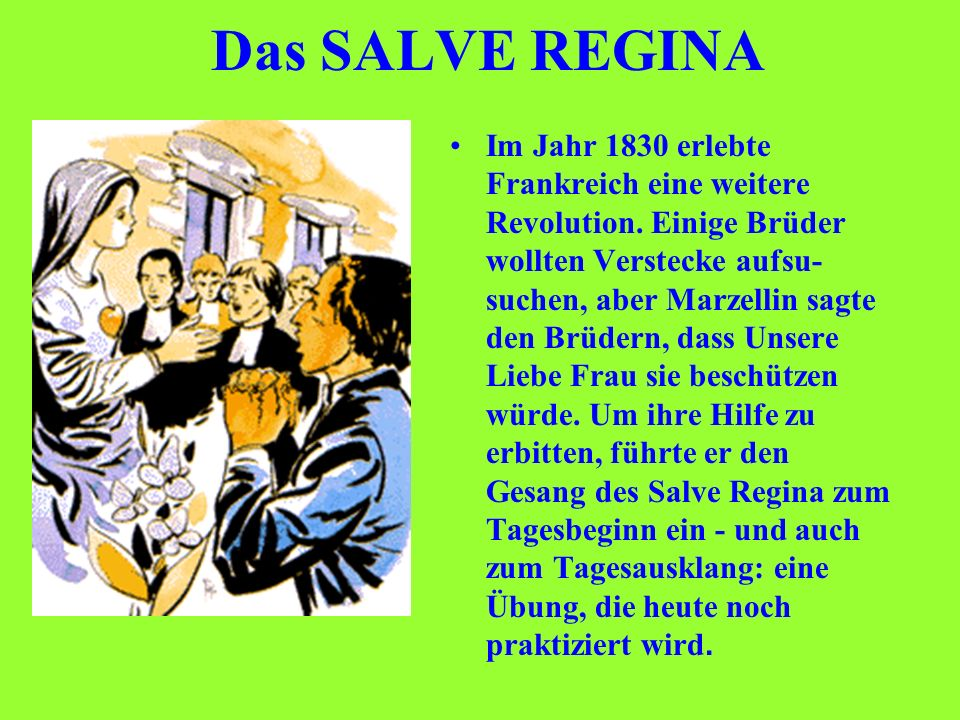 Das SALVE REGINA