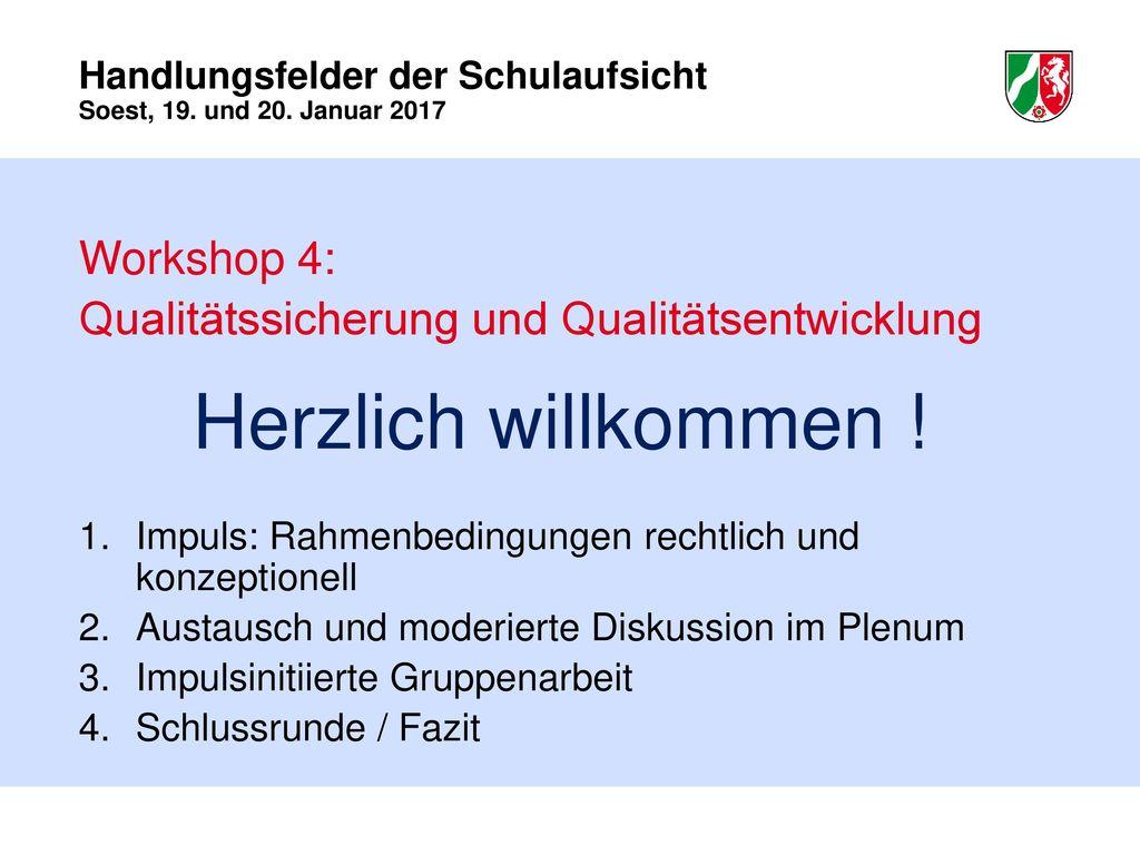 Qualitätssicherung und Qualitätsentwicklung