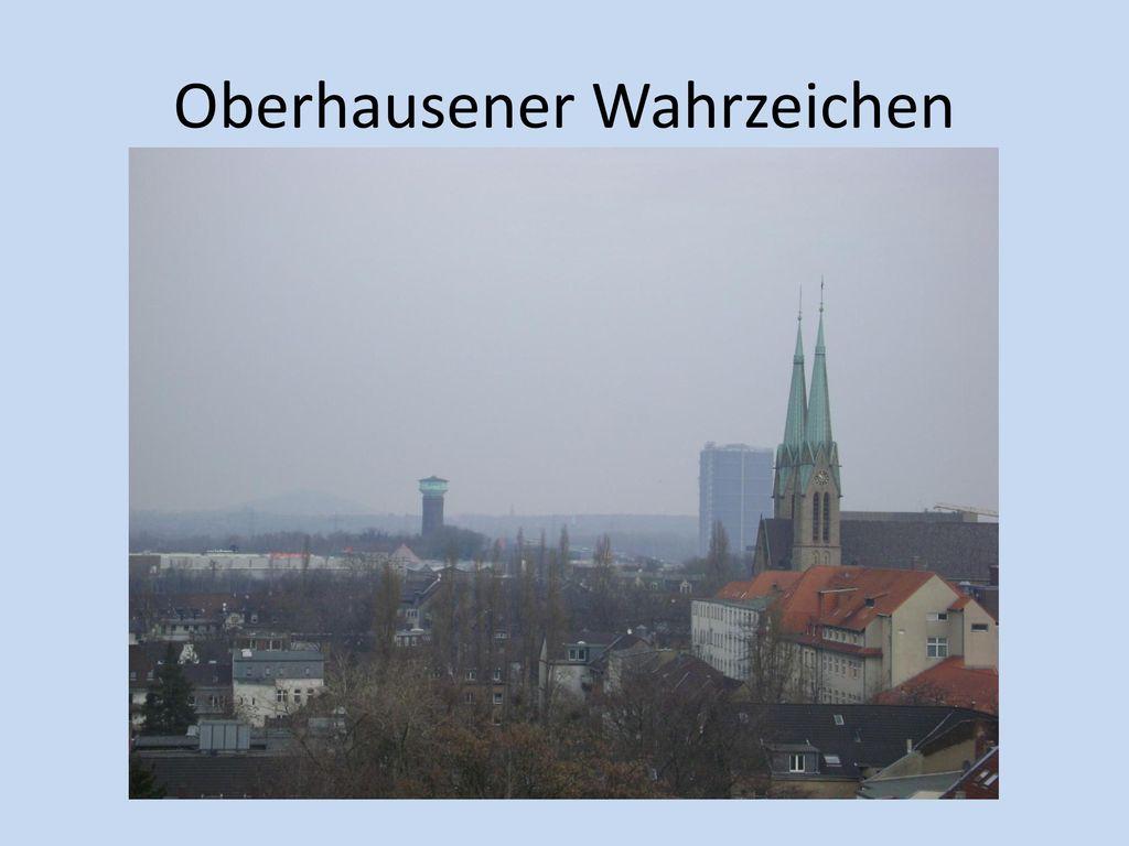 Oberhausener Wahrzeichen