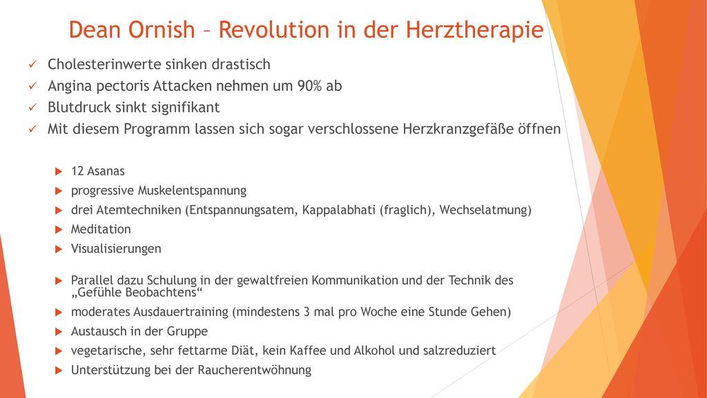 Dean Ornish – Revolution in der Herztherapie